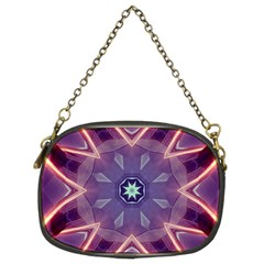 Abstract Glow Kaleidoscopic Light Chain Purses (Two Sides)