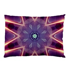 Abstract Glow Kaleidoscopic Light Pillow Case