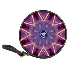 Abstract Glow Kaleidoscopic Light Classic 20 Cd Wallets