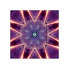 Abstract Glow Kaleidoscopic Light Acrylic Tangram Puzzle (4  X 4 )