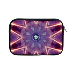 Abstract Glow Kaleidoscopic Light Apple iPad Mini Zipper Cases