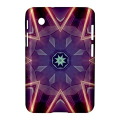 Abstract Glow Kaleidoscopic Light Samsung Galaxy Tab 2 (7 ) P3100 Hardshell Case
