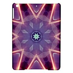 Abstract Glow Kaleidoscopic Light iPad Air Hardshell Cases