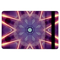 Abstract Glow Kaleidoscopic Light Ipad Air Flip