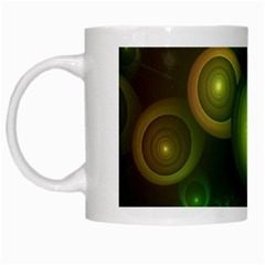 Retrotacular Rainbow Dots in a Fractal Microscope White Mugs