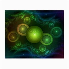 Retrotacular Rainbow Dots in a Fractal Microscope Small Glasses Cloth (2-Side)