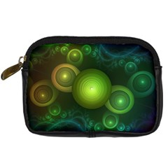 Retrotacular Rainbow Dots in a Fractal Microscope Digital Camera Cases