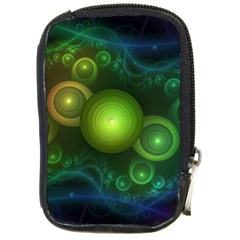 Retrotacular Rainbow Dots In A Fractal Microscope Compact Camera Cases