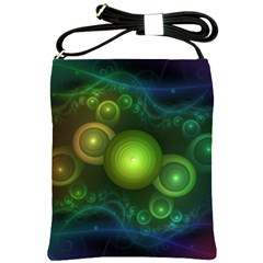 Retrotacular Rainbow Dots in a Fractal Microscope Shoulder Sling Bags