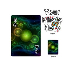 Retrotacular Rainbow Dots in a Fractal Microscope Playing Cards 54 (Mini)