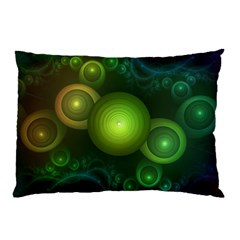 Retrotacular Rainbow Dots in a Fractal Microscope Pillow Case (Two Sides)