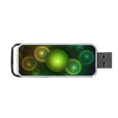 Retrotacular Rainbow Dots in a Fractal Microscope Portable USB Flash (Two Sides)