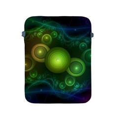 Retrotacular Rainbow Dots in a Fractal Microscope Apple iPad 2/3/4 Protective Soft Cases