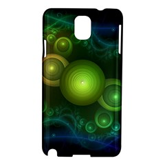 Retrotacular Rainbow Dots in a Fractal Microscope Samsung Galaxy Note 3 N9005 Hardshell Case