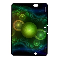 Retrotacular Rainbow Dots in a Fractal Microscope Kindle Fire HDX 8.9  Hardshell Case