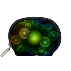 Retrotacular Rainbow Dots in a Fractal Microscope Accessory Pouches (Small)