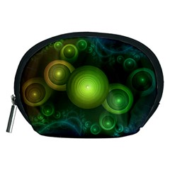 Retrotacular Rainbow Dots in a Fractal Microscope Accessory Pouches (Medium)