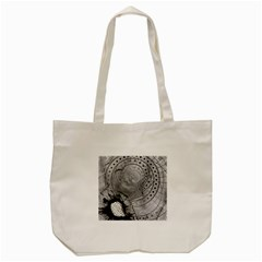 Fragmented Fractal Memories and Gunpowder Glass Tote Bag (Cream)
