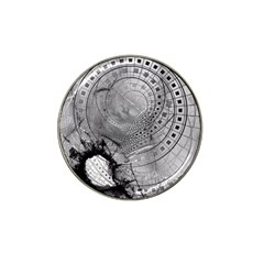 Fragmented Fractal Memories and Gunpowder Glass Hat Clip Ball Marker (10 pack)