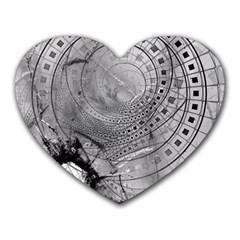 Fragmented Fractal Memories and Gunpowder Glass Heart Mousepads