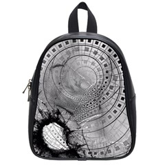 Fragmented Fractal Memories And Gunpowder Glass School Bags (small)