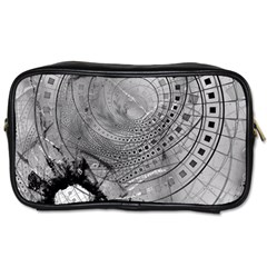 Fragmented Fractal Memories and Gunpowder Glass Toiletries Bags 2-Side