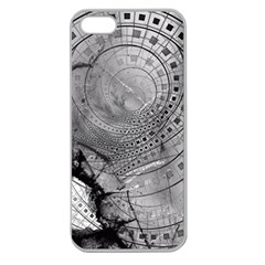 Fragmented Fractal Memories and Gunpowder Glass Apple Seamless iPhone 5 Case (Clear)