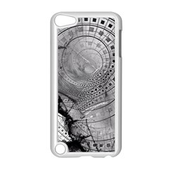 Fragmented Fractal Memories And Gunpowder Glass Apple Ipod Touch 5 Case (white)