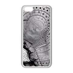 Fragmented Fractal Memories and Gunpowder Glass Apple iPhone 5C Seamless Case (White)