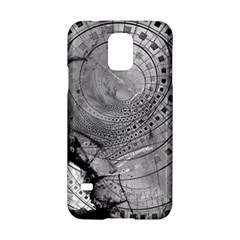 Fragmented Fractal Memories and Gunpowder Glass Samsung Galaxy S5 Hardshell Case