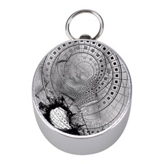 Fragmented Fractal Memories and Gunpowder Glass Mini Silver Compasses