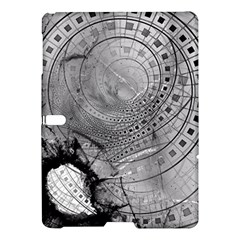 Fragmented Fractal Memories and Gunpowder Glass Samsung Galaxy Tab S (10.5 ) Hardshell Case