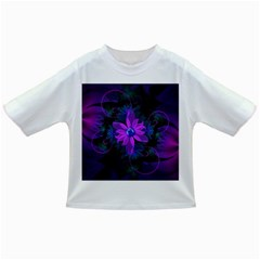 Beautiful Ultraviolet Lilac Orchid Fractal Flowers Infant/Toddler T-Shirts