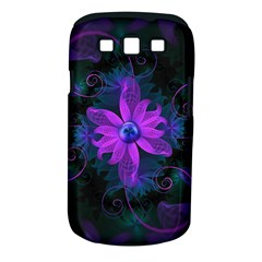Beautiful Ultraviolet Lilac Orchid Fractal Flowers Samsung Galaxy S III Classic Hardshell Case (PC+Silicone)