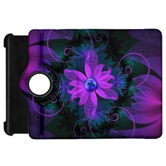 Beautiful Ultraviolet Lilac Orchid Fractal Flowers Kindle Fire HD 7