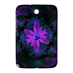 Beautiful Ultraviolet Lilac Orchid Fractal Flowers Samsung Galaxy Note 8.0 N5100 Hardshell Case
