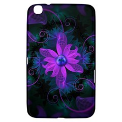 Beautiful Ultraviolet Lilac Orchid Fractal Flowers Samsung Galaxy Tab 3 (8 ) T3100 Hardshell Case