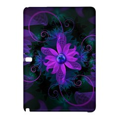 Beautiful Ultraviolet Lilac Orchid Fractal Flowers Samsung Galaxy Tab Pro 10.1 Hardshell Case