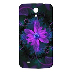 Beautiful Ultraviolet Lilac Orchid Fractal Flowers Samsung Galaxy Mega I9200 Hardshell Back Case