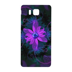 Beautiful Ultraviolet Lilac Orchid Fractal Flowers Samsung Galaxy Alpha Hardshell Back Case