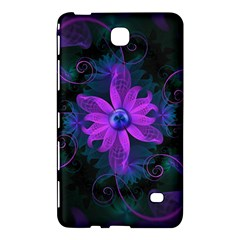 Beautiful Ultraviolet Lilac Orchid Fractal Flowers Samsung Galaxy Tab 4 (8 ) Hardshell Case