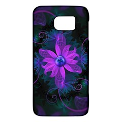 Beautiful Ultraviolet Lilac Orchid Fractal Flowers Galaxy S6