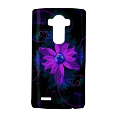 Beautiful Ultraviolet Lilac Orchid Fractal Flowers LG G4 Hardshell Case