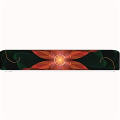 Beautiful Red Passion Flower in a Fractal Jungle Small Bar Mats