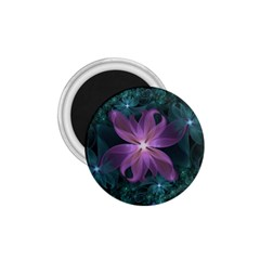 Pink And Turquoise Wedding Cremon Fractal Flowers 1 75  Magnets