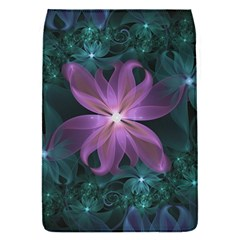 Pink and Turquoise Wedding Cremon Fractal Flowers Flap Covers (S)