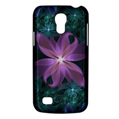 Pink and Turquoise Wedding Cremon Fractal Flowers Galaxy S4 Mini