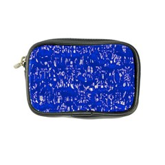 Glossy Abstract Blue Coin Purse