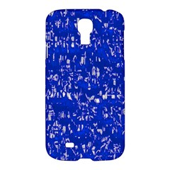 Glossy Abstract Blue Samsung Galaxy S4 I9500/I9505 Hardshell Case