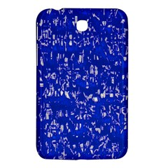 Glossy Abstract Blue Samsung Galaxy Tab 3 (7 ) P3200 Hardshell Case